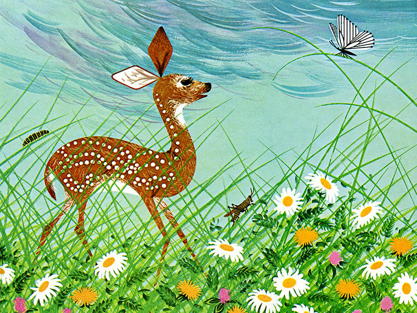 Bambi And Childcraft The Charley Harper Gallery