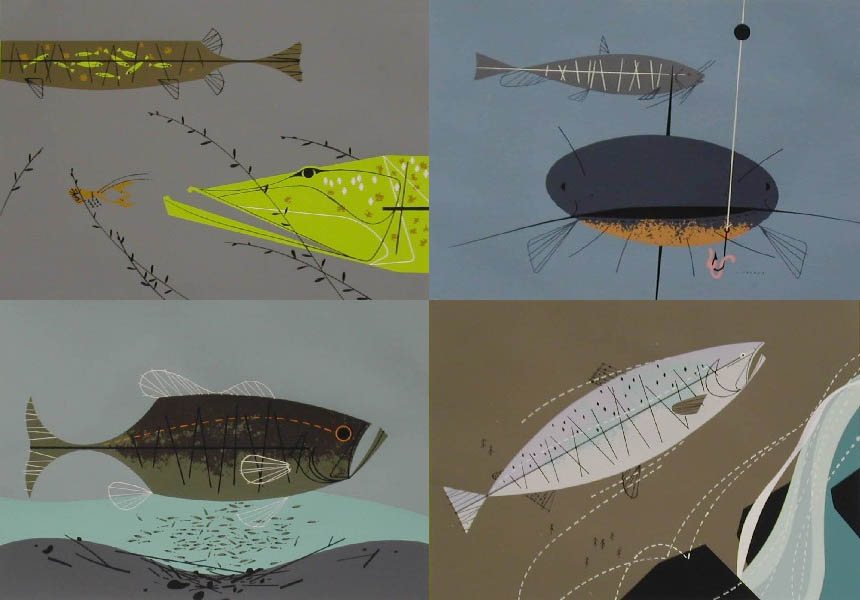 Ford times the charley harper gallery for Charley s fishing