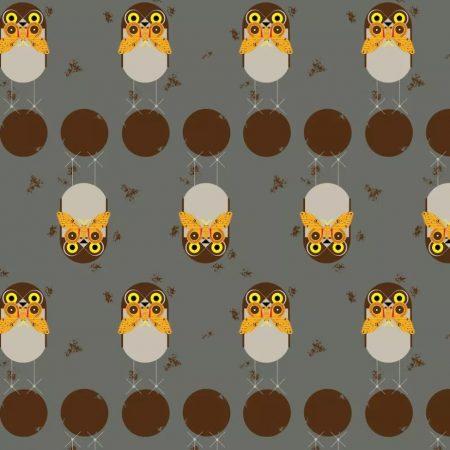 Burrowing Owl poplin