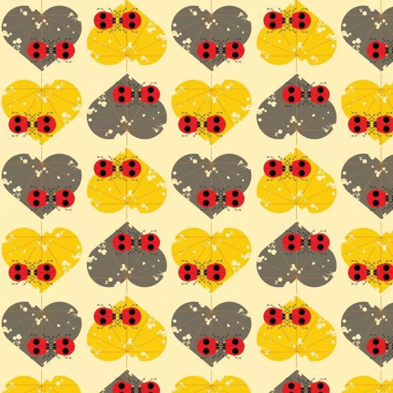 Ladybug Lovers poplin