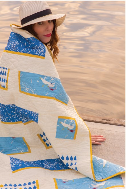 Sea Feed Quilt Pattern